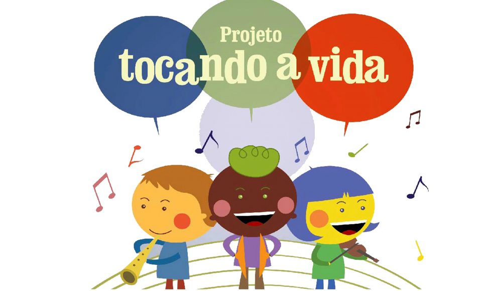 Escola Dom Luis do Amaral Mousinho recebe Projeto Tocando a Vida