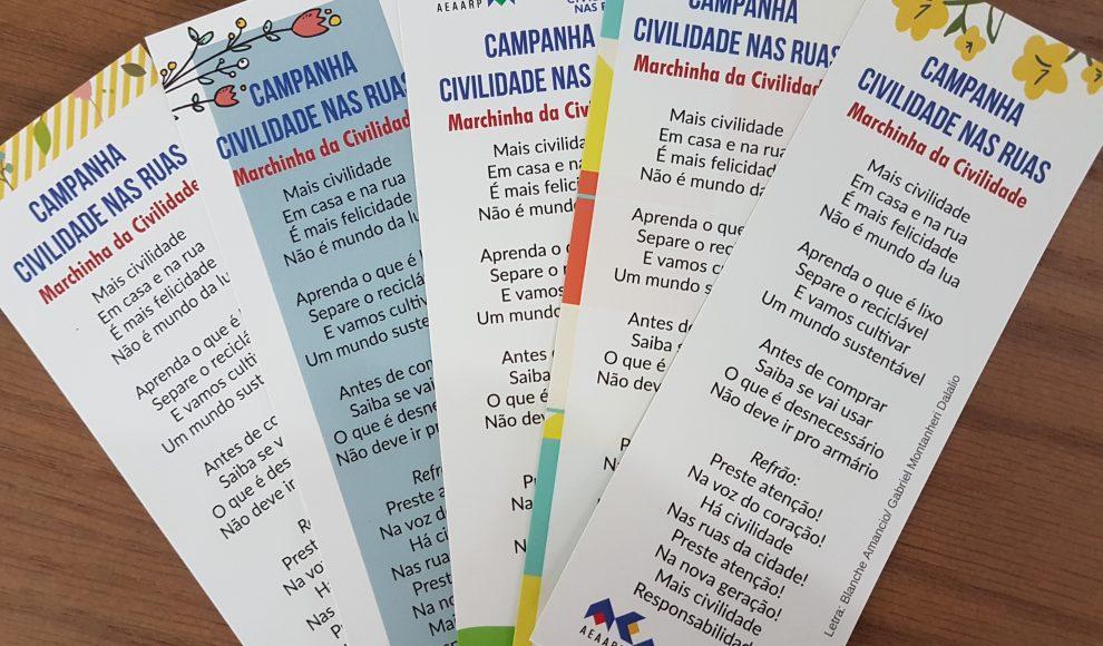 Campanha educativa em Ribeirão Preto lança Marchinha da Civilidade