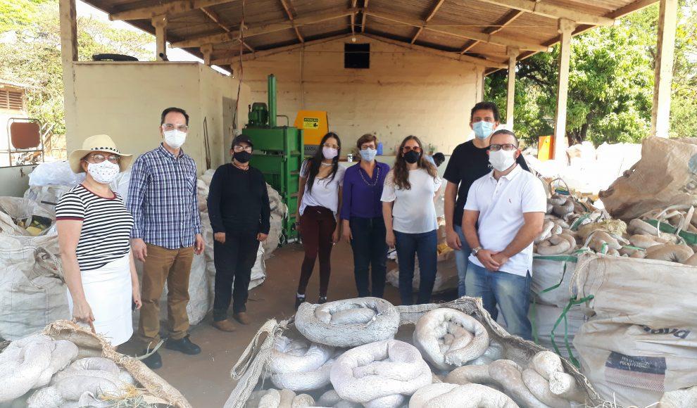 Ribeirão envia mais 4 toneladas de EPS para reciclagem
