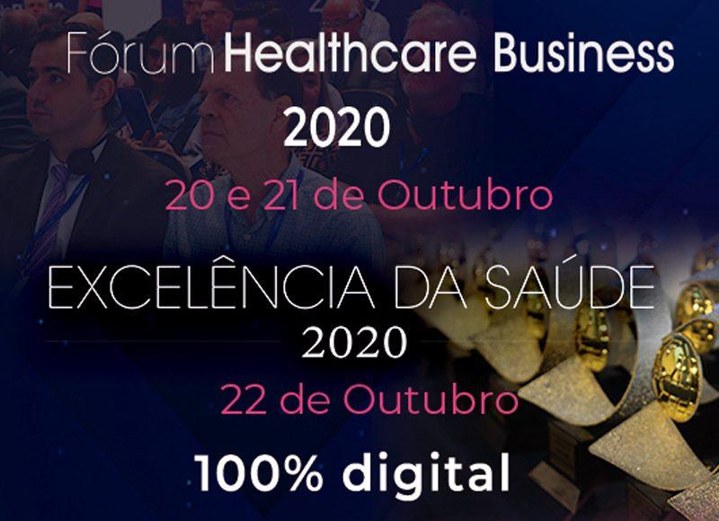 Prêmio Excelência da Saúde 2020 anuncia vencedores  no dia 22 de outubro